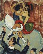 Negro Dance 1911 By Ernst Kirchner