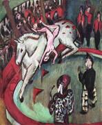 Girl Circus Rider 1912 By Ernst Kirchner