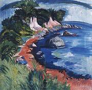 Fehmarn Coast 1913 By Ernst Kirchner