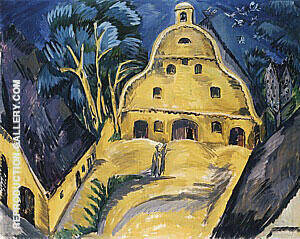 Staberhof Country Estate Fehmarn I 1913 By Ernst Kirchner Replica Paintings on Canvas - Reproduction Gallery