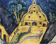 Staberhof Country Estate Fehmarn I 1913 By Ernst Kirchner