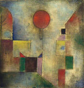 Red Balloon 1922 By Paul Klee