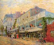 The Restaurant de la Sirene at Asnieres 1887 By Vincent van Gogh