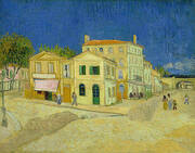 The Yellow House Place Lamartine Arles 1888 By Vincent van Gogh