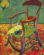 Paul Gauguins Armchair By Vincent van Gogh