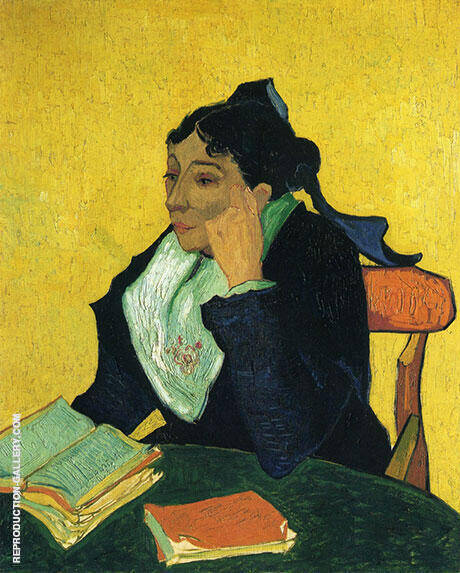 L'Arlesienne Portrait of Madame Ginoux 1888 By Vincent van Gogh