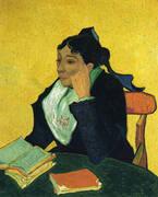 L'Arlesienne Portrait of Madame Ginoux 1888 By Vincent van Gogh