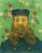 Portrait of the Postman Joseph Roulin 1889 By Vincent van Gogh