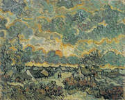 Winter Landscape Memories of the North 1890 By Vincent van Gogh