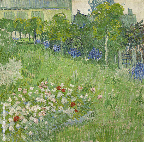 Daubigny's Garden 1890 Painting By Vincent van Gogh - Reproduction Gallery