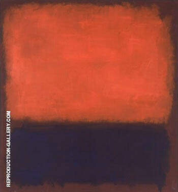No 14 1960 Painting By Mark Rothko - Reproduction Gallery