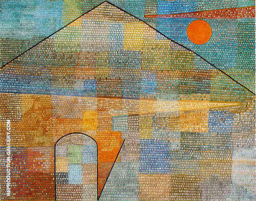 Ad Parnassum 1932 Painting By Paul Klee - Reproduction Gallery