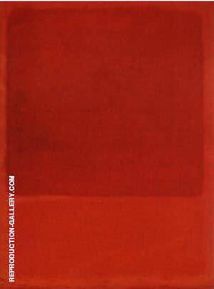 Reproduction of Red Orange 1968 by Mark Rothko | Oil Painting Replica On CanvasReproduction Gallery