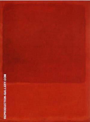 Red Orange 1968 By Mark Rothko