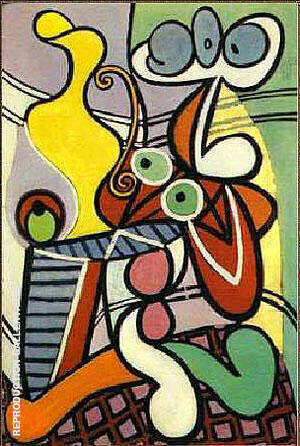 Yellow Jug Painting By Pablo Picasso - Reproduction Gallery