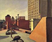 City Roofs, 1932 By Edward Hopper