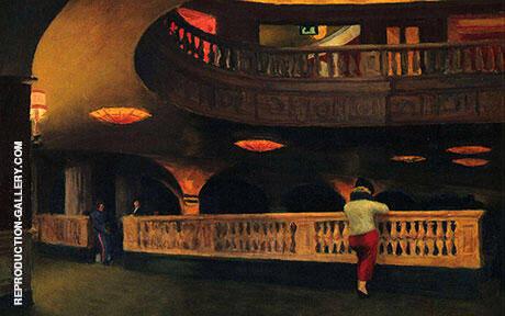 The Sheridan Theatre, 1937 By Edward Hopper