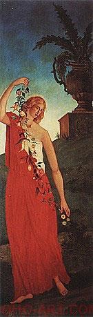 Spring c1860 By Paul Cezanne