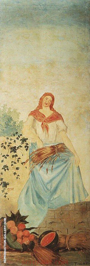 Summer, c. 1860-1862 By Paul Cezanne
