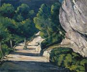 Landscape, 1870 By Paul Cezanne