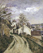 The House of Dr Gachet in Auvers, c. 1873 By Paul Cezanne