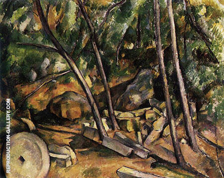 The Mill, 1898-1900 By Paul Cezanne