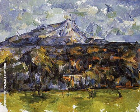 Mont Sainte-Victoire Seen from Les Lauves c1904 By Paul Cezanne