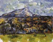 Mont Sainte-Victoire Seen from Les Lauves c1904 By Paul Cezanne