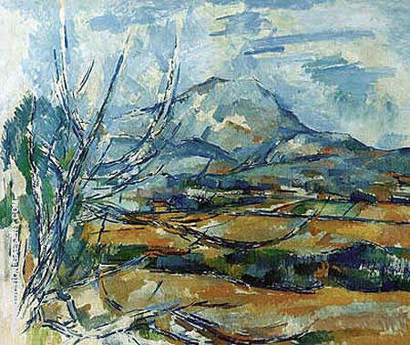Mont Sainte-Victoire, 1890-1894 By Paul Cezanne