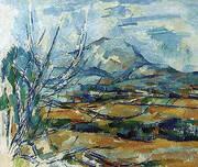 Mont Sainte-Victoire, 1890-1894 By Paul Cezanne