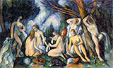 The Large Bathers, 1900-1905 By Paul Cezanne