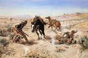 The Cinch Ring 1909 By Charles M Russell