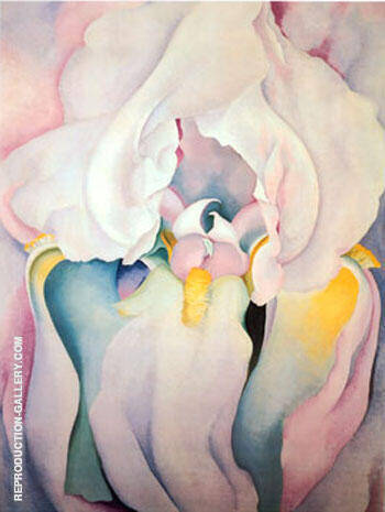 Light Iris By Georgia O'Keeffe - Oil Paintings & Art Reproductions - Reproduction Gallery