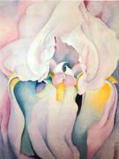 Light Iris By Georgia O'Keeffe