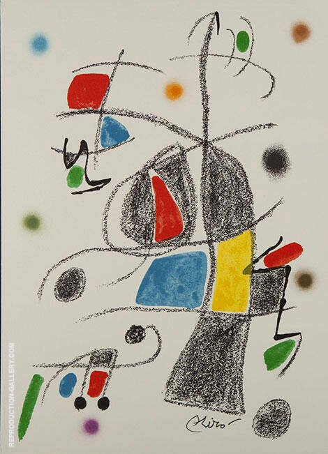 Maravillas 1975 By Joan Miro Replica Paintings on Canvas - Reproduction Gallery
