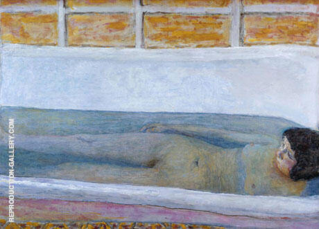 The Bath 1925 By Pierre Bonnard