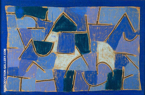 Blue Night 1937 Painting By Paul Klee - Reproduction Gallery