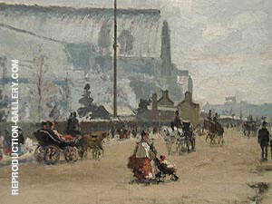Upper Norwood, Crystal Palace 1870 Painting By Camille Pissarro
