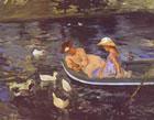 Summertime 1894 By Mary Cassatt