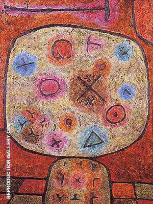 Composition A Painting By Paul Klee - Reproduction Gallery