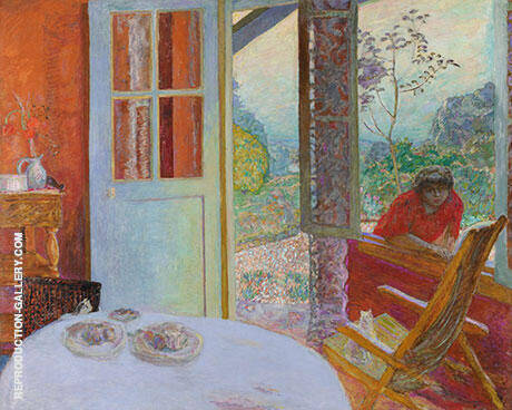 Dining Room in the Country 1913 By Pierre Bonnard