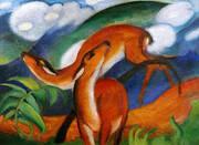 Red Deer II 1912 By Franz Marc
