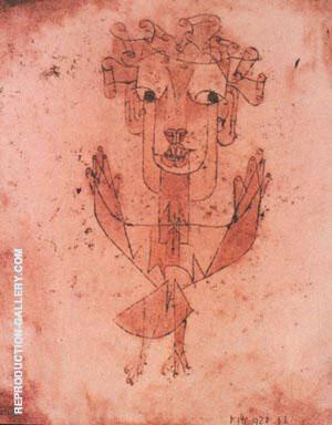Angelos Novus 1910 By Paul Klee