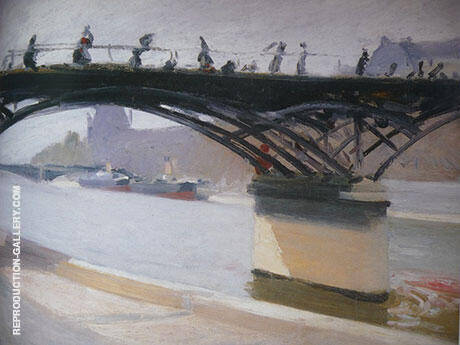 Le Pont des Arts By Edward Hopper - Oil Paintings & Art Reproductions - Reproduction Gallery