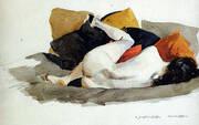 Reclining Nude 1924-27 By Edward Hopper