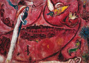 Song of Songs III By Marc Chagall
