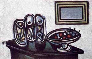 Still Life with Cherries By Pablo Picasso