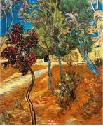 Trees in the Asylum Garden 1889 By Vincent van Gogh