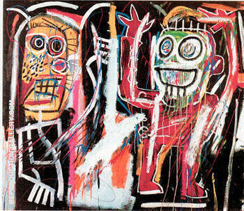 Dustheads 1982 By Jean-Michel-Basquiat