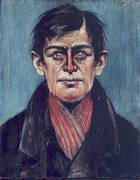 Head of Man By L-S-Lowry